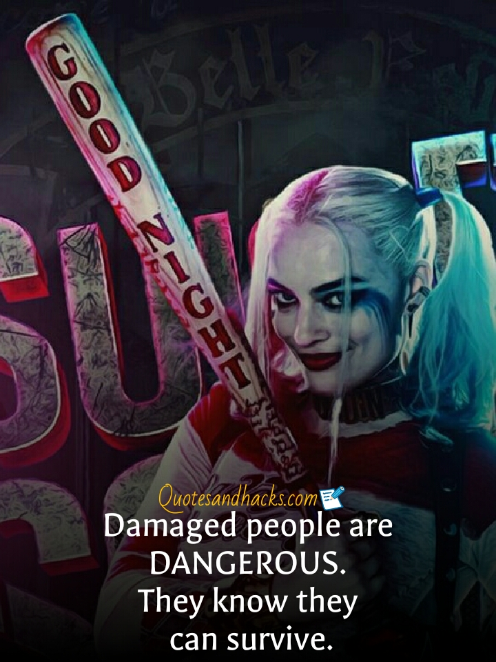 best attitude harley quinn quotes quotes and hacks