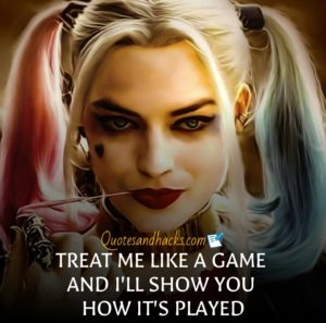 Harley quinn quotes