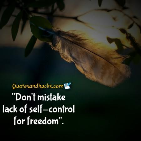 self control quotes