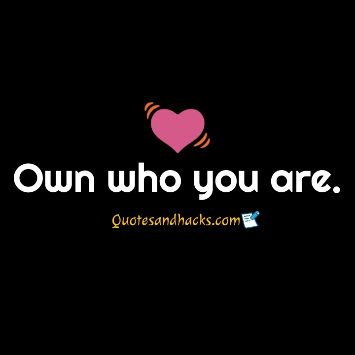 quotes about yourself