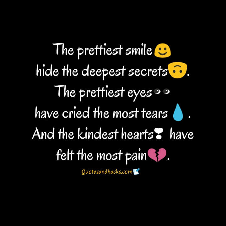 Deep sad quotes