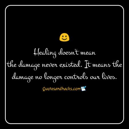 Healing quotes for a broken heart