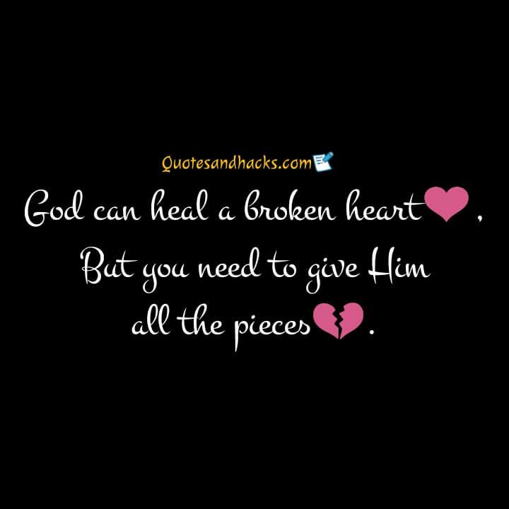 Healing quotes for broken heart