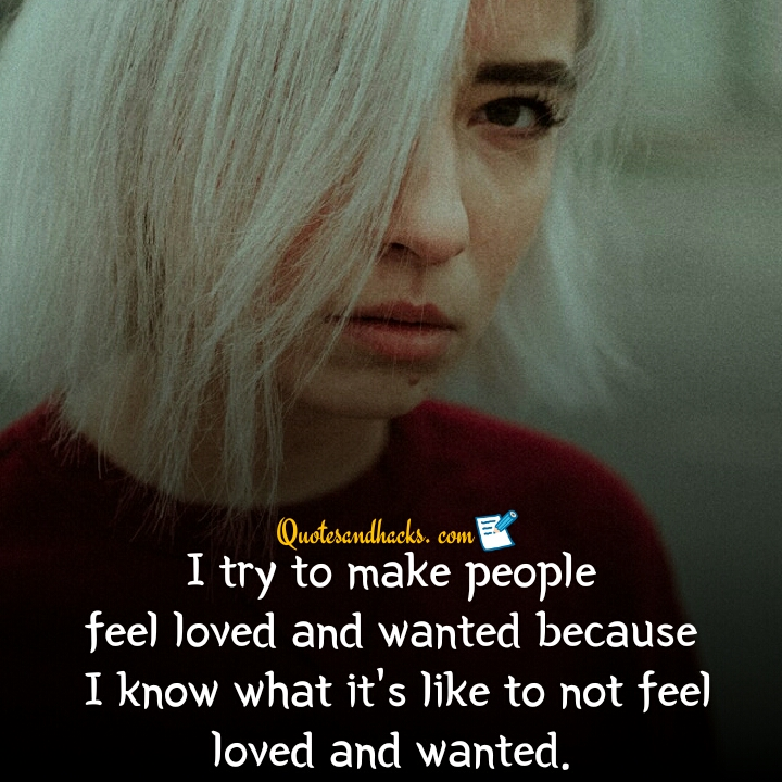 feeling unloved quotes