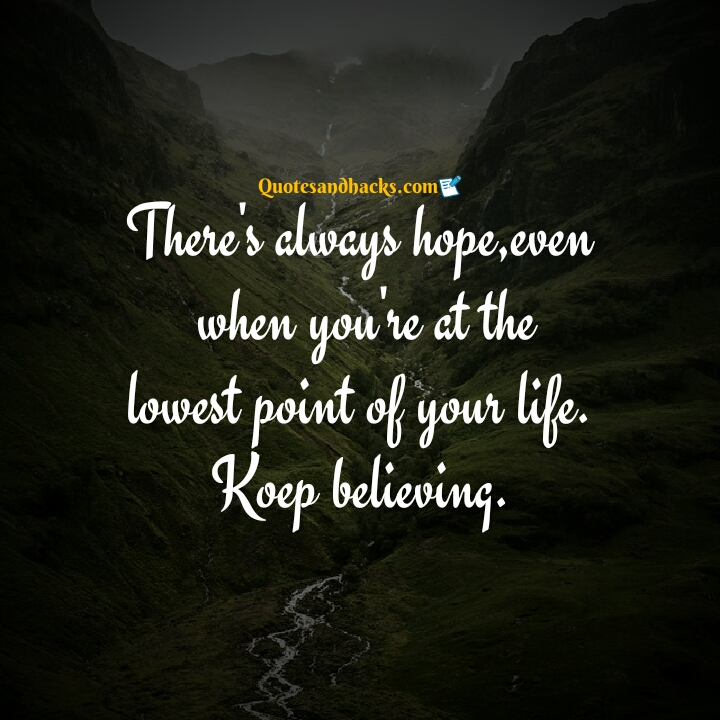 hope for future quotes