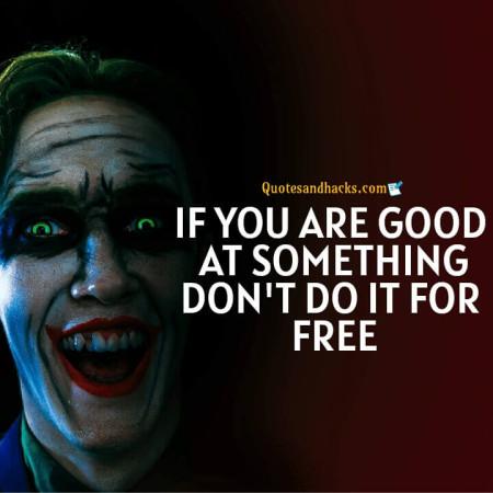Joker quotes that make sense