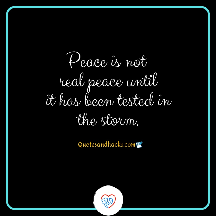 quotes about peace