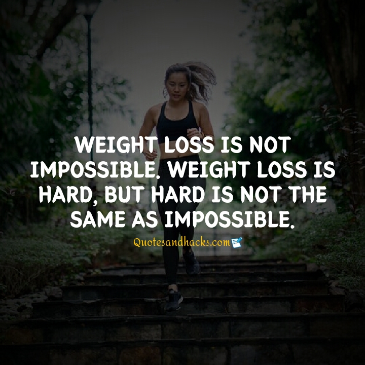 Weight loss inspiration quotes
