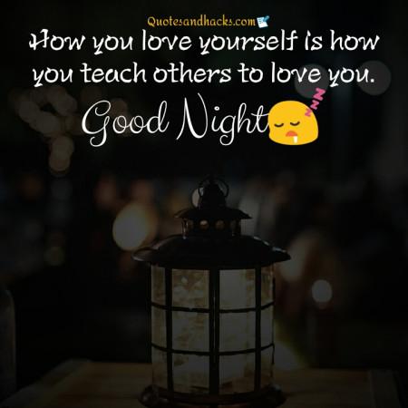good night quotes inspirational