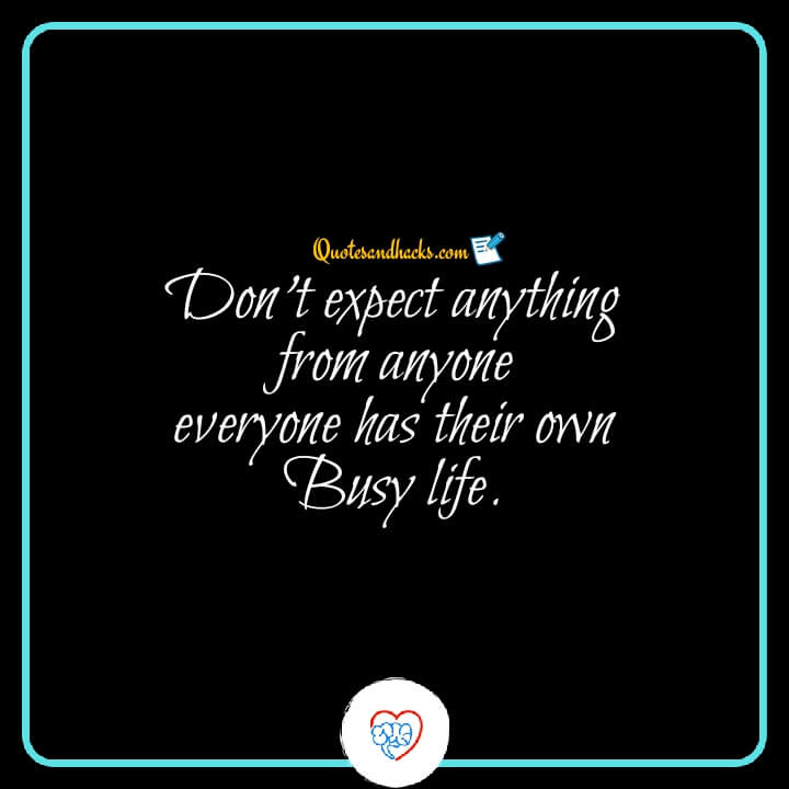 don't expect quotes