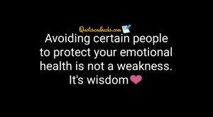 Quotes on avoiding